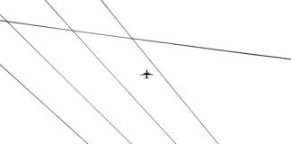 Airplane Power Lines