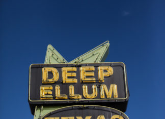 Deep Ellum Texas Neon Sign