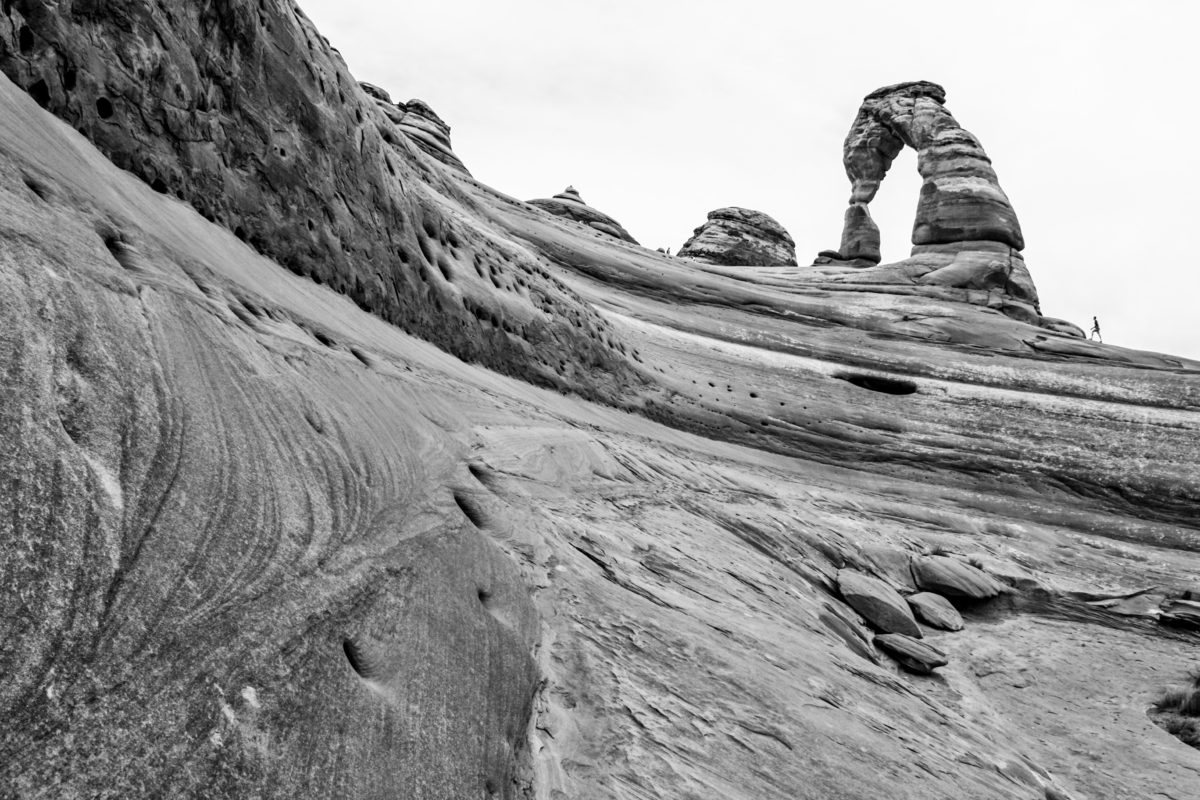 Delicate Arch From Below