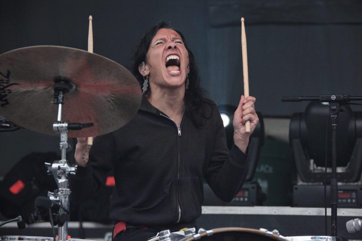 Kim On Drums